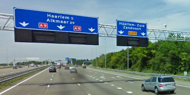 Afslag Haarlem-Zuid
