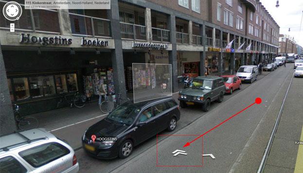 Google bedrijfsfoto's op Google StreetView