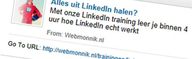 Adverteren op LinkedIn