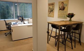 het kantoor van Webmonnik.nl