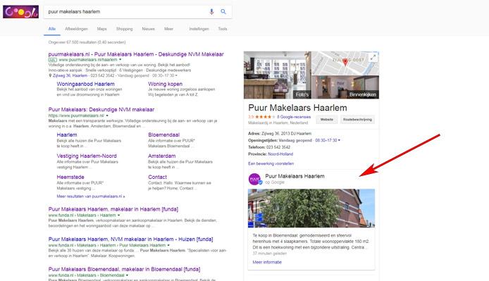 Blogposts voor je bedrijfsvermelding op Google