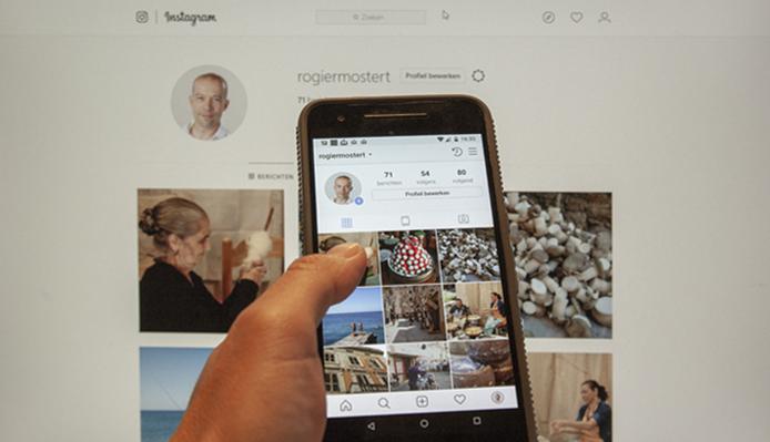 Foto's uploaden via je computer naar Instagram
