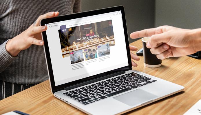 Case: nieuwe website voor ABU