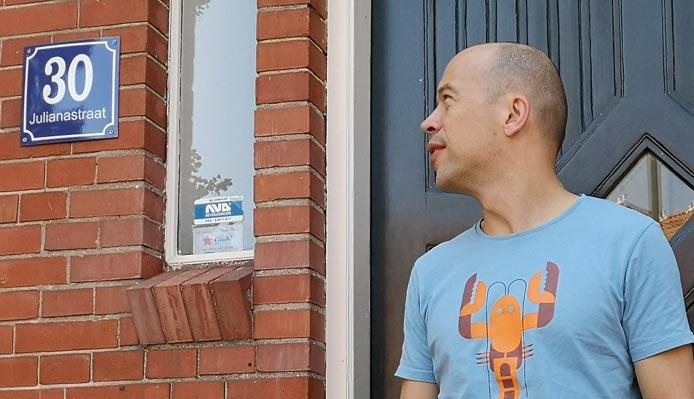 Webmonnik.nl aan de Julianastraat 30 in Haarlem